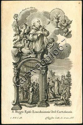 Ugo di Lincoln https://sites.google.com/site/caravaggio67/klauber/santi-e-beati-certosini/02-ugo-di-lincoln
