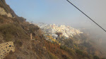 And here's the view of Fira from the cable car