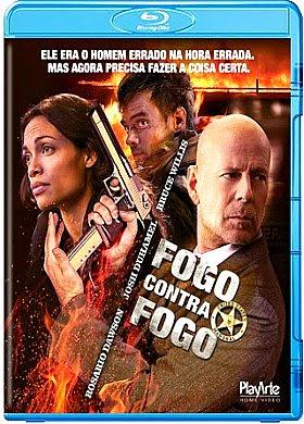 Filme Poster Fogo Contra Fogo BDRip XviD Dual Audio & RMVB Dublado