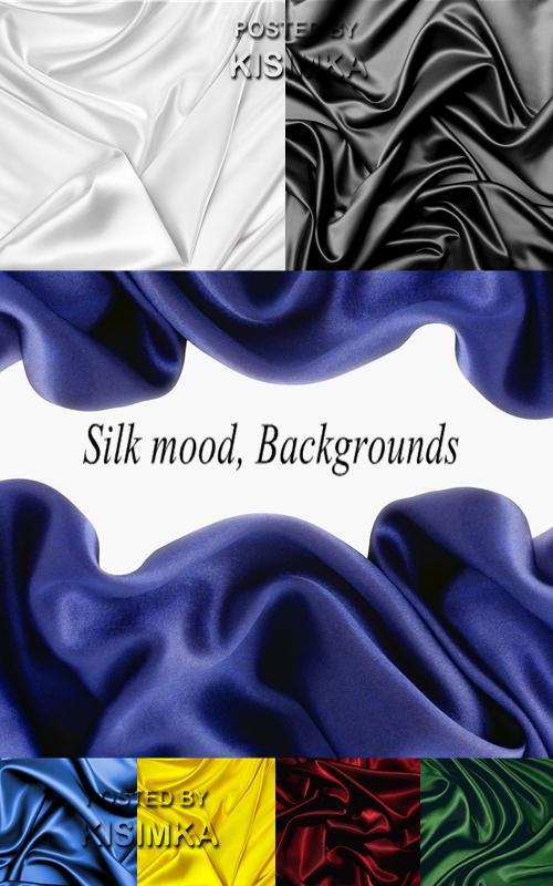 Stock Photo: Silk mood, Backgrounds