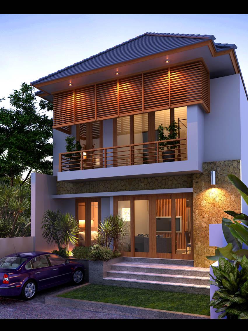 62 Desain Rumah Minimalis Bali Desain Rumah Minimalis