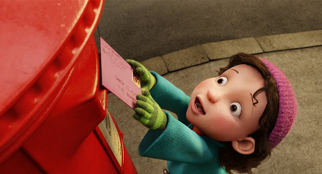 Gwen (voiced by Ramona Marquez) in ARTHUR CHRISTMAS