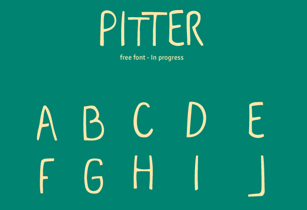 PITTER Free Fonts
