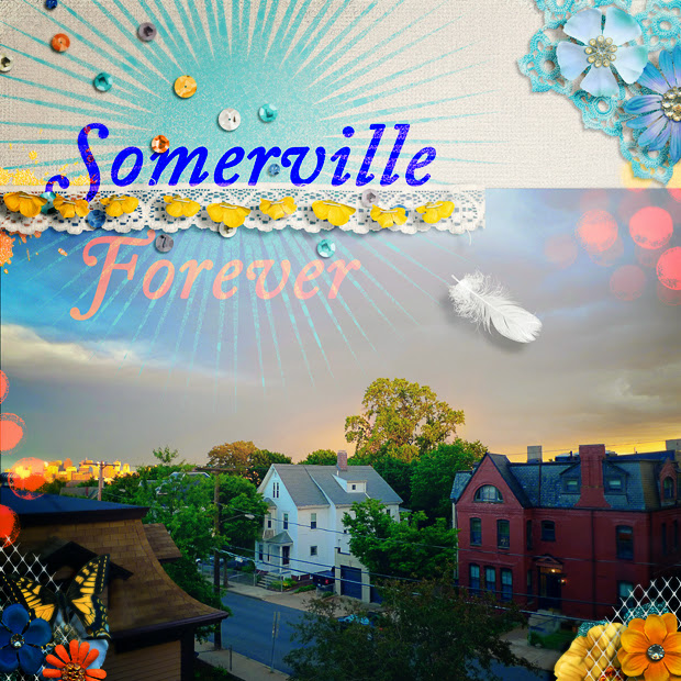 Somerville Forever // 12x12 // By the Seaside by Zoe Pearn