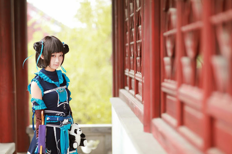 Vẻ đẹp dễ thương của tiểu nữ hiệp Đường Môn - Ảnh 7