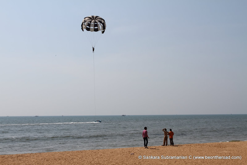 Parasailing at Rajabaga Beach - 4