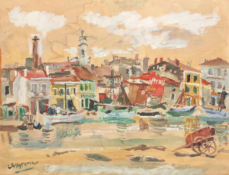 Lucian Grigorescu - Peisaj din Martigues