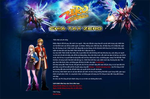 SaigonTel tiếp tục đóng cửa Chiến Quốc và Zero Online 2