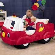 MommysLove4Baby143: LITTLE TIKES FIRE TRUCK TODDLERS BED ...