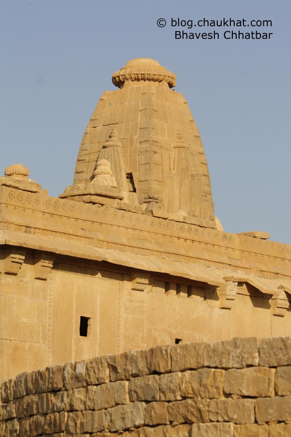 Kuldhara Village in Jaisalmer - Temple Steeple