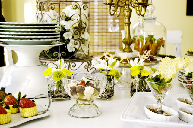 How to Set up a Buffet Table- The Style Sisters.