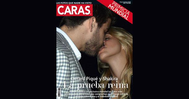 Piquê tá pegando a Shakira!