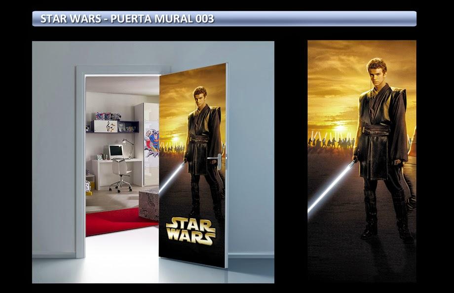 StarStar Wars Posters Adhesivos Gigantes - Carteles de Cine - Arteygraficadigital Wars Sticker Adhesivos Gigantes para Puertas Arteygraficadigital