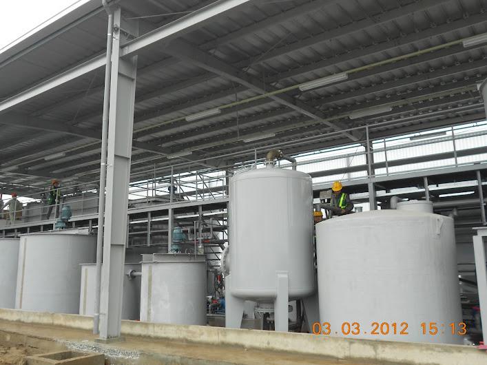 Bồn composite phản ứng