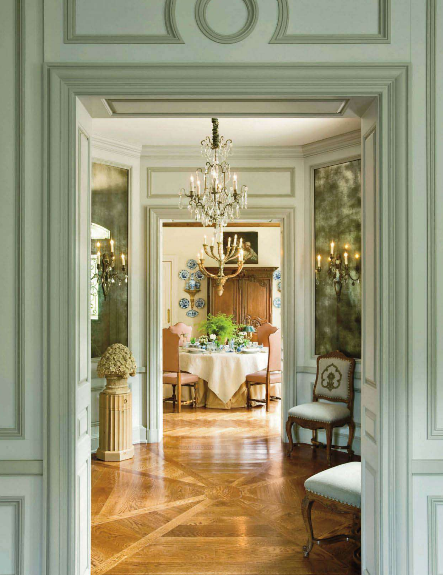 This Beautiful Home And Several Others Can Be Seen In The April Issue Of Veranda