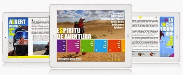 Espíritu de Aventura, un innovador libro que puedes leer, escuchar, ver y compartir