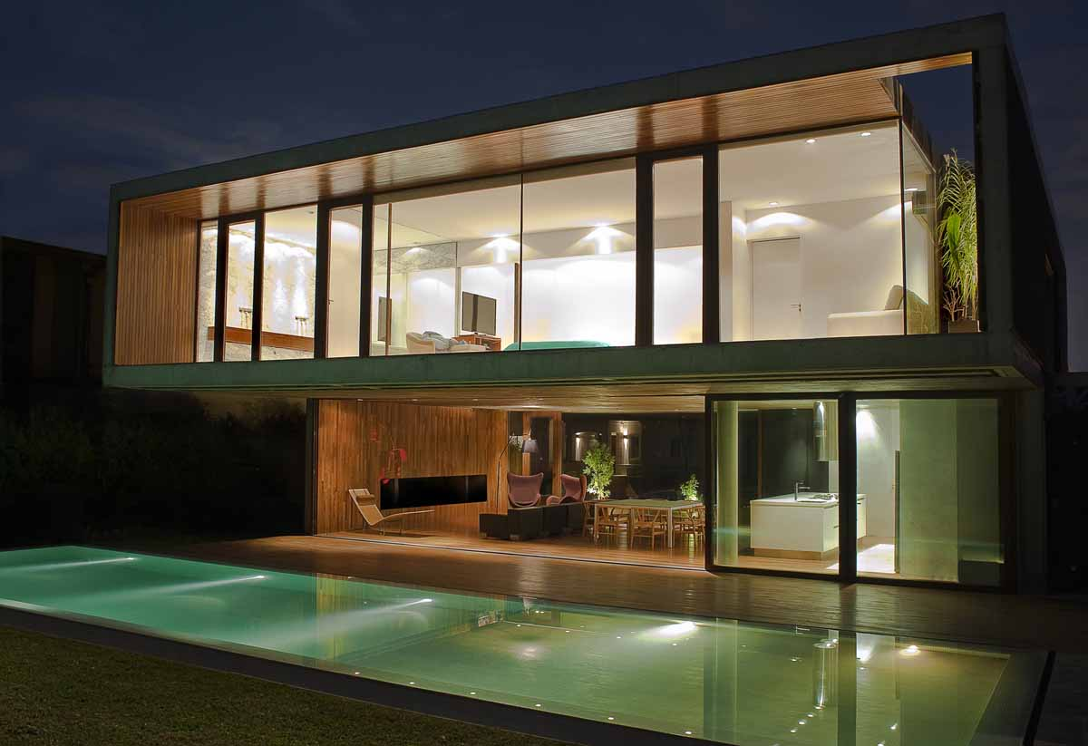 House FF design by  Fritz + Fritz Arquitectos