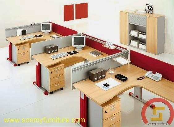 Mẫu thiết kế nội thất văn phòng SMF725