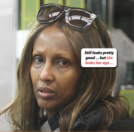 Motrell Tells We Got Pics Of Supermodel Iman Without Any