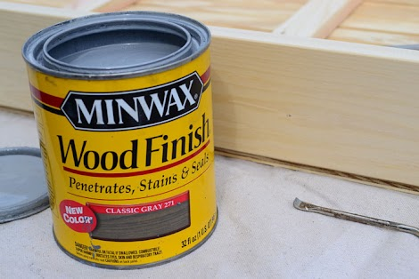 minwax just came out with this great new stain called classic gray it is the only stain that i used on this project