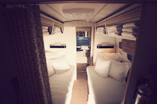 A look inside the Peacock Alley Airstream, Steel Magnolia