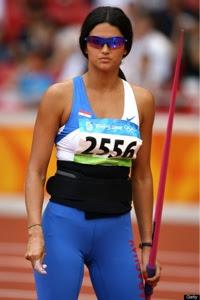 Londres: Paraguaya Leryn Franco latina mas seguida y fotografiada de las olimpiadas