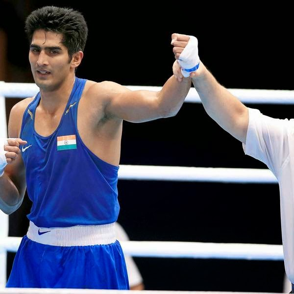 In the ring, Vijender outclassed Trinidad and Tobago's Aaron Prince in men's 75kg category. The 2008 Olympic bronze medallist won 3-0 on points in a unanimous decision of the three judges.