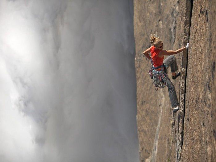 Восхождение на Йосемитский водопад