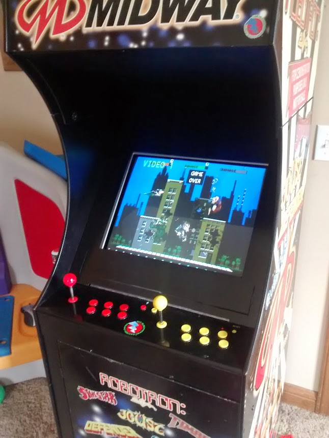 Midway Arcade Cabinet By Big Electronic Games