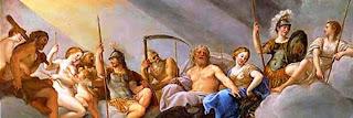 Έλληνες Θεοί,δευτερόγενοι Θεοί, μυθολογία.