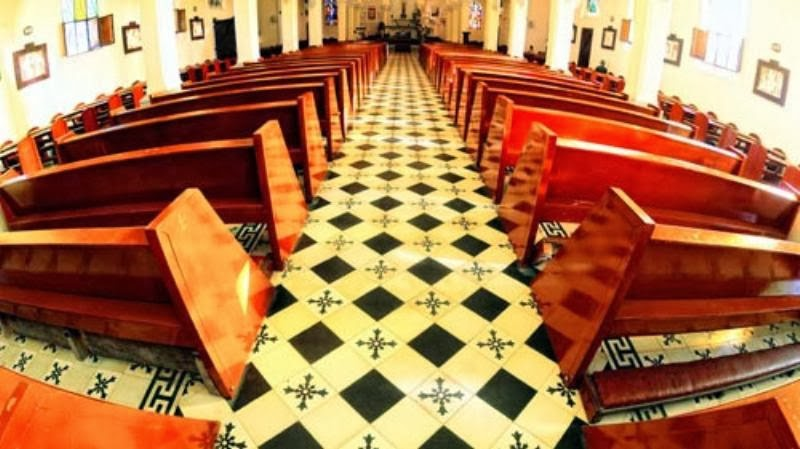 1365557357 ve dep nha tho con ga  14  001 Tuyệt đẹp kiến trúc nhà thờ Domaine de Marie