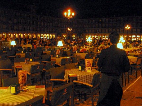 Мадрид - площадь Майор