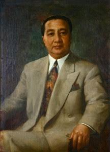 Elpidio Quirino painting