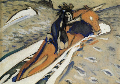 Valentin Serov - The Rape of Europe. 1