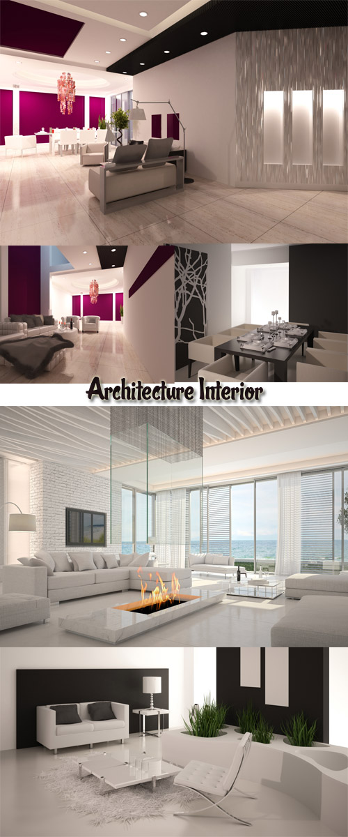 Stock Photo: Architecture Interior