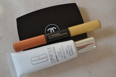 chanel mat lumiere foundation clinique dermawhite mac select moisturecover duo
