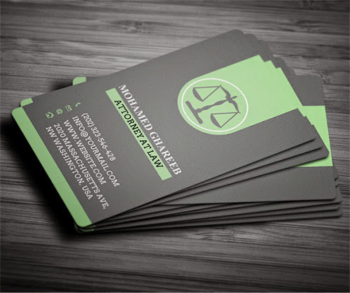 ejemplos de tarjetas de presentaci n para abogados