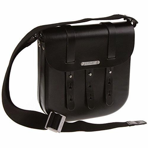 Brooks B3 Leder Fahrrad Tasche groß large schwarz Leather