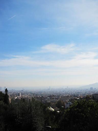 バルセロナの風景