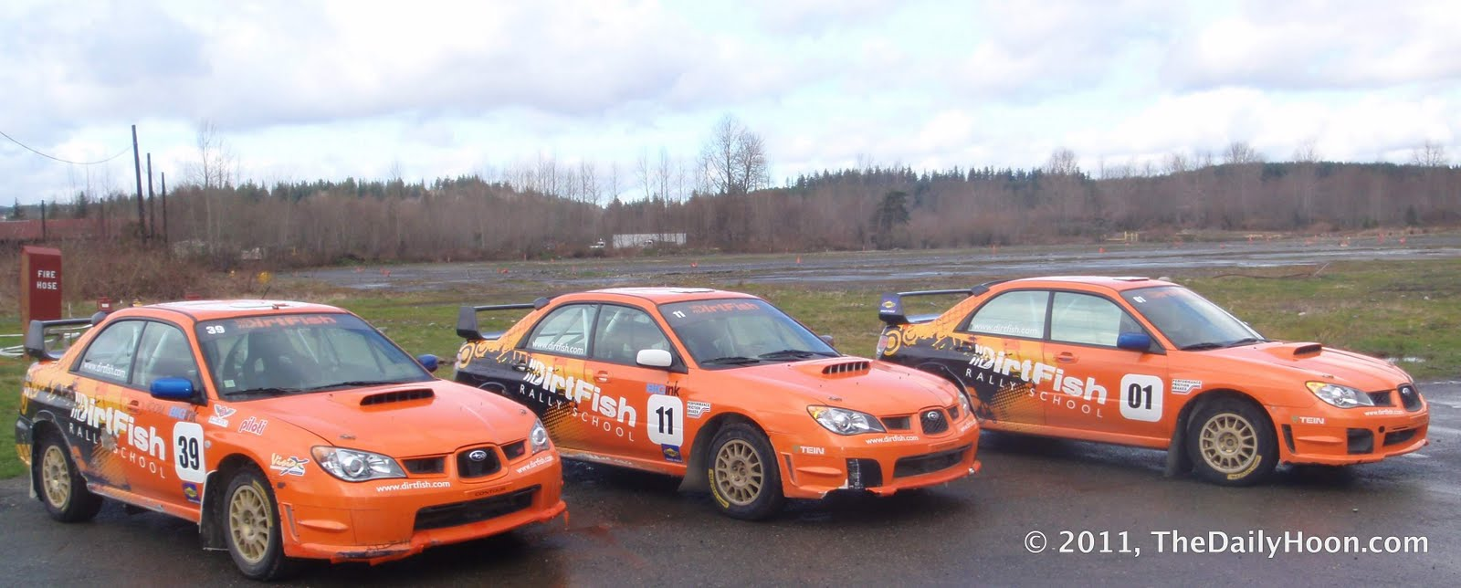 The Daily Hoon: DirtFish Rally School - A Daily Hoon Review
