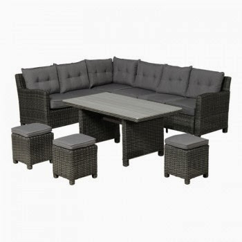 Buddha lounge-dining set