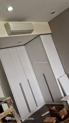 Hình ảnh thi công trang trí nội thất căn hộ