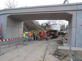 Budowa Wiaduktu w Wieliczce na Narutowicza