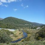 Looking along the Thredbo River (278219)