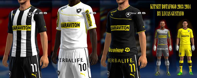 Botafogo 2013 Kitset - PES 2013