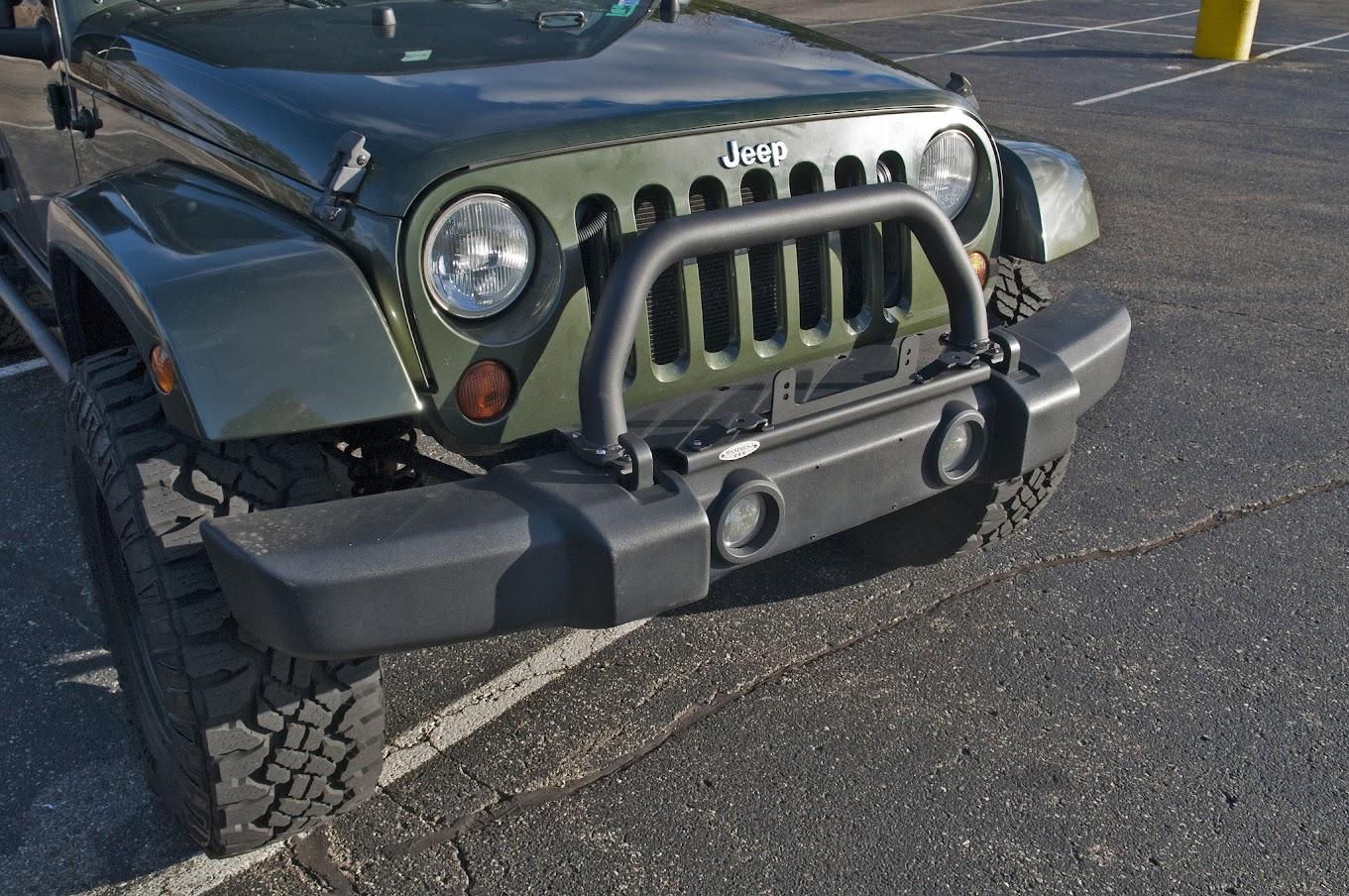 How To Maximus 3 Install Hoop Winch Light Mount Jeep Wrangler Forum Wiring This Image Has Been Resized Click Bar View The Full