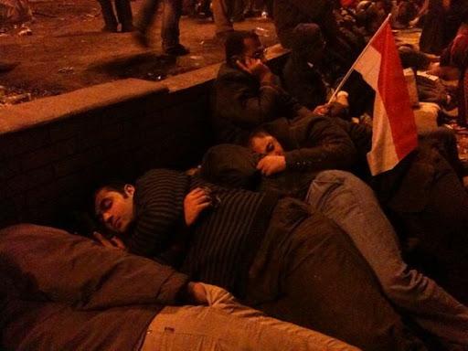 Egyptian Revolution شريف الحكيم Night