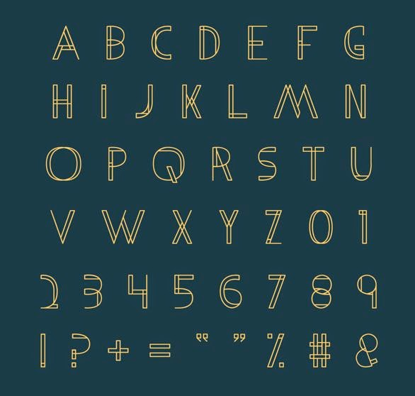 metria free font
