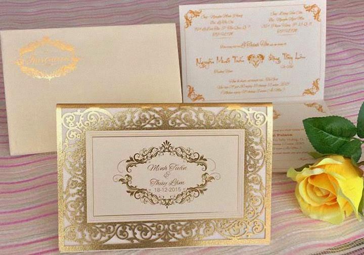 Thiệp cưới cao cấp