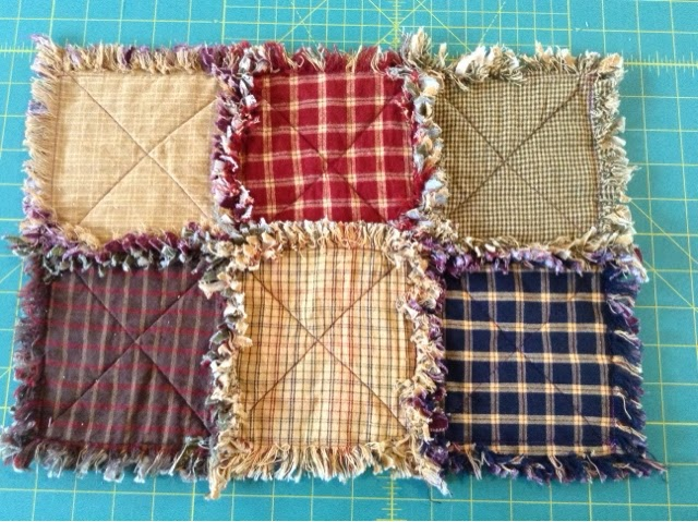 Mrs P's Amherst, Nova Scotia: Rag quilt...perfect for beginners!... : rag quilt with batting - Adamdwight.com